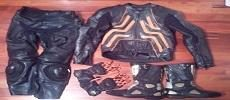 Motorcycle RIDING GEAR - JAKET PANTS BOOTS GLOVES