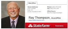 Ray Thompson - State Farm Insurance